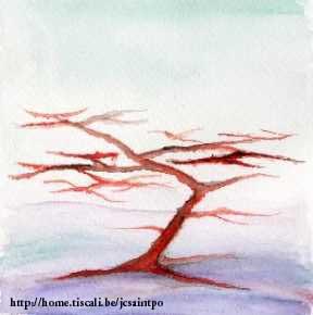 Fantasielandschappen met bomen