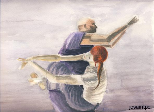onschuldig dansers fantasie