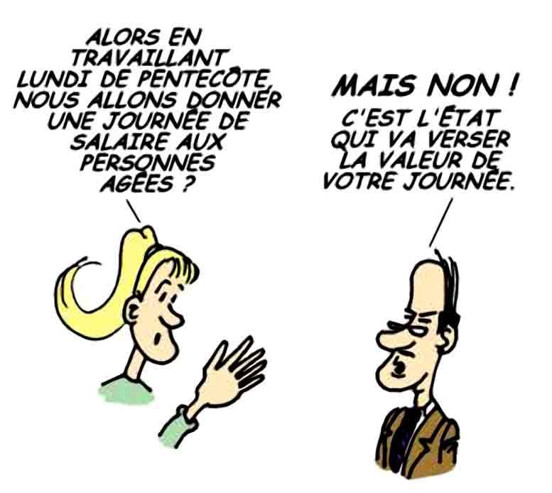 Rafarrin pentecote dessin humour - Lundi de la pentecote ...