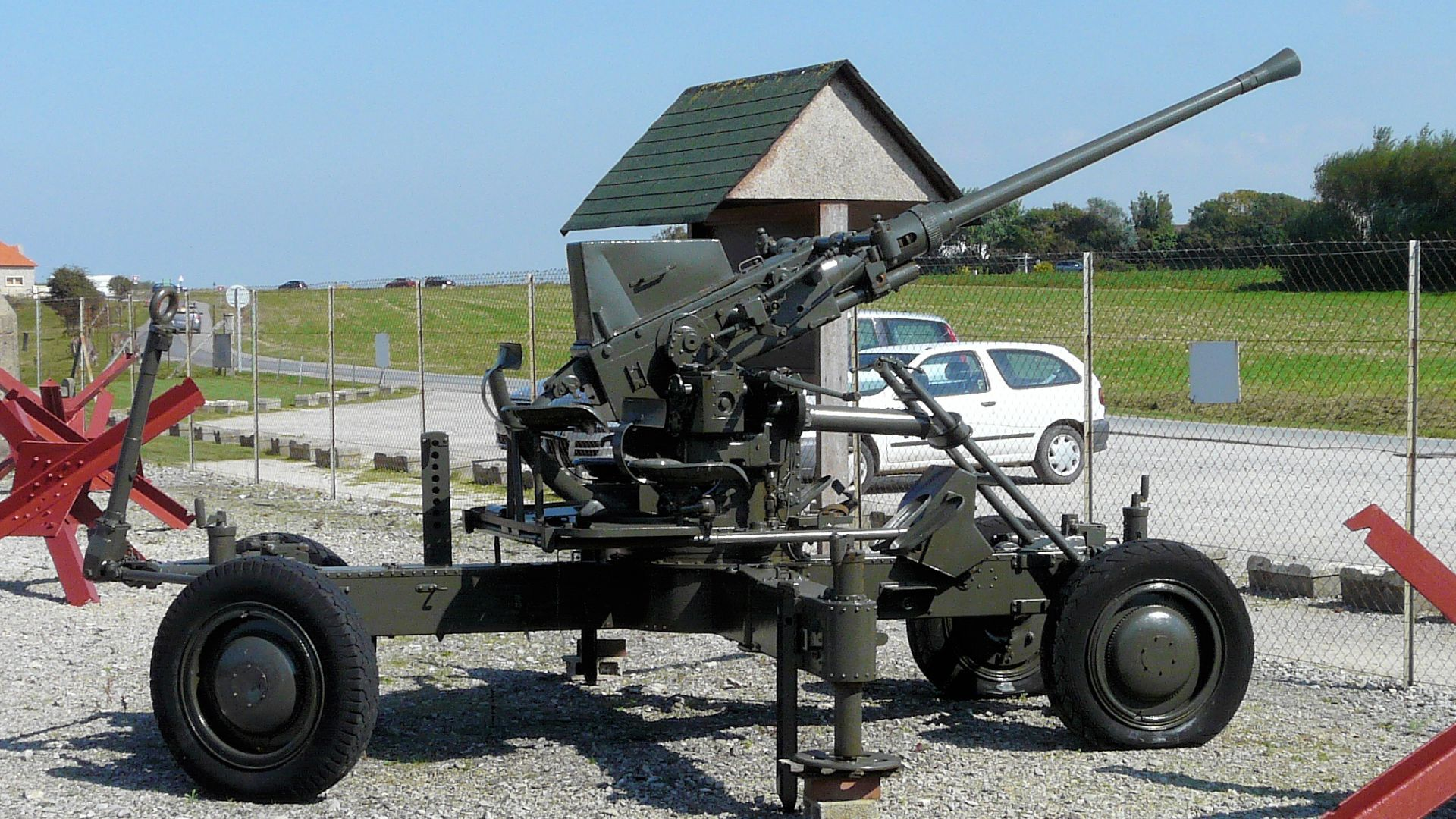 Bofors 40mm AA Gun.