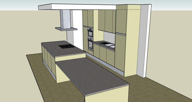 Verlaagd Plafond In De Keuken : is het plafond verlaagt, nu vragen we af of we in dit verlaagd plafond