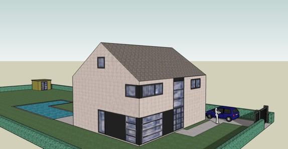 Post hier je 3d huisontwerpen bouwinfo for Huis in 3d ontwerpen