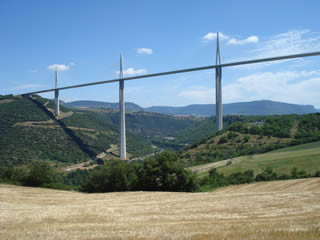 Viaduct in Millau