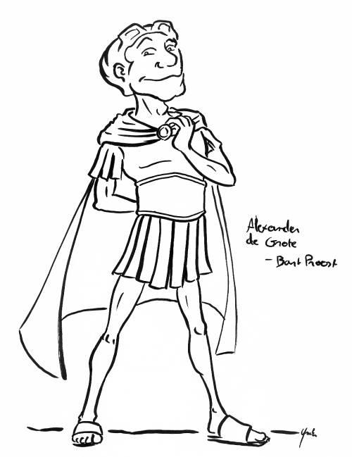 Alexander de Grote.