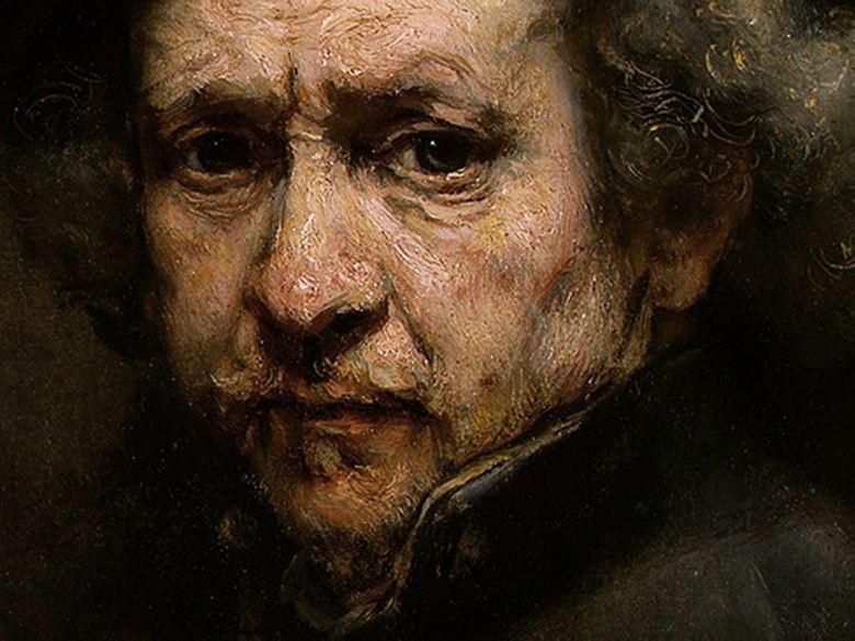 Grosses taches et pointillés (peinture fraîche... ou pas et autres babioles) Rembrandt